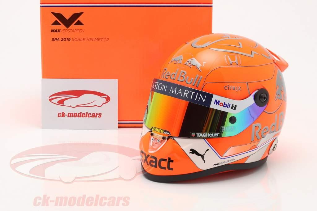 Max Verstappen #33 Belgian GP spa formula 1 2019 helmet 1:2 Schuberth