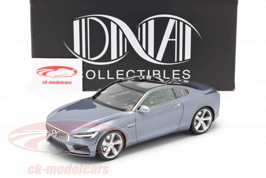 Volvo Concept Coupe Año de construcción 2013 ligero azul metálico 1:18 DNA Collectibles