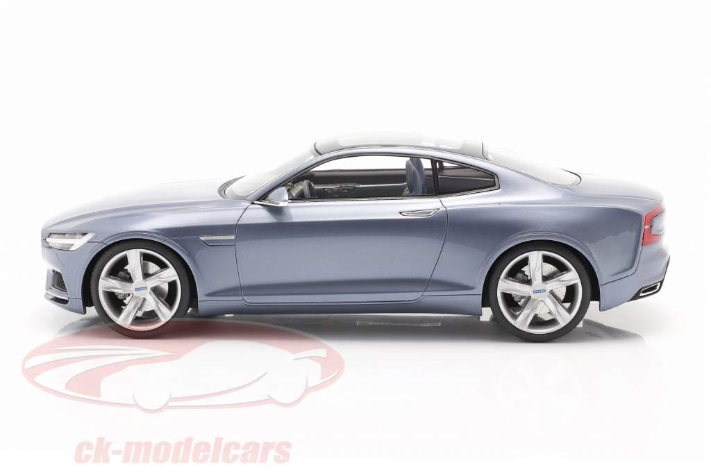 Volvo Concept Coupe Année de construction 2013 lumière bleu métallique 1:18 DNA Collectibles