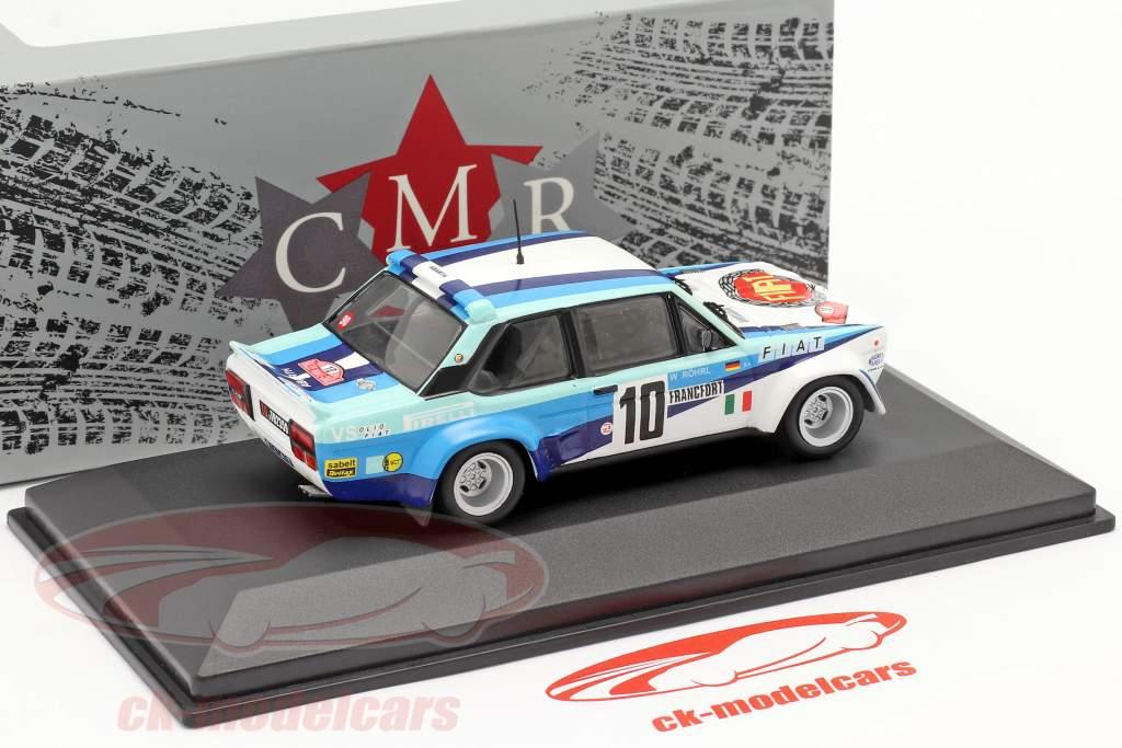 Fiat 131 Abarth #10 winnaar Rallye Monte Carlo 1980 Röhrl, Geistdörfer 1:43 CMR