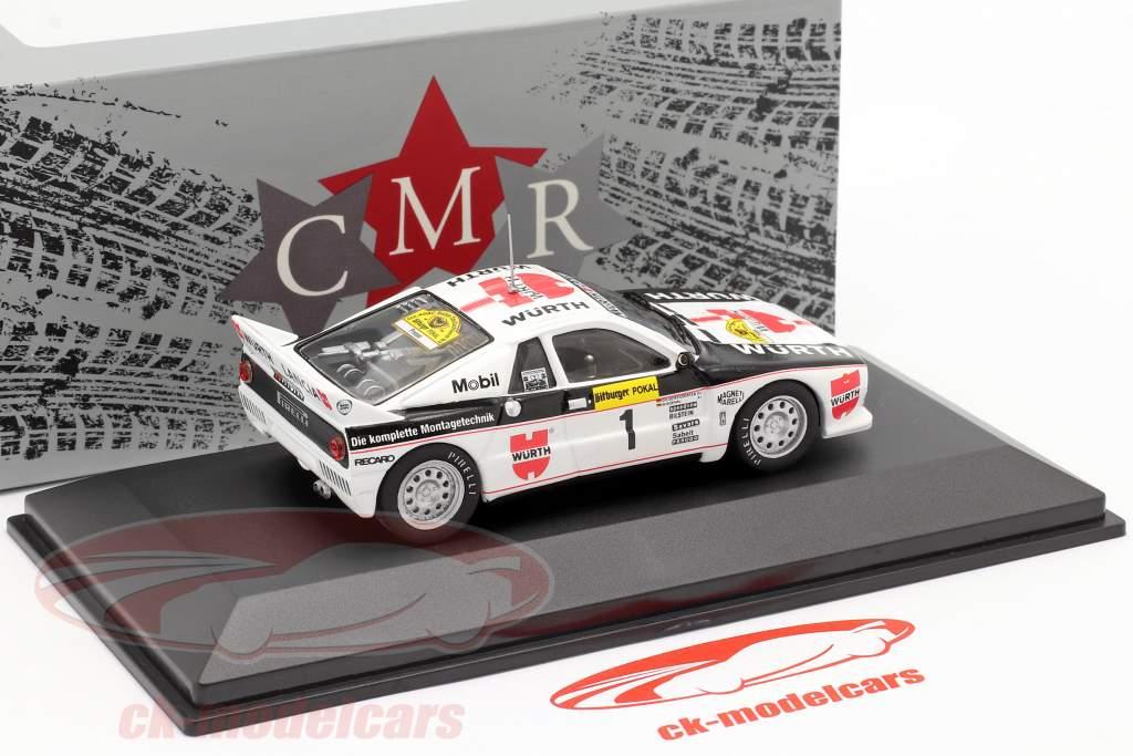 Lancia 037 #1 vinder Rallye Tyskland 1983 Röhrl, Geistdörfer 1:43 CMR