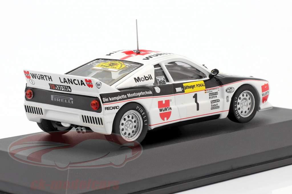 Lancia 037 #1 ganador Rallye Alemania 1983 Röhrl, Geistdörfer 1:43 CMR