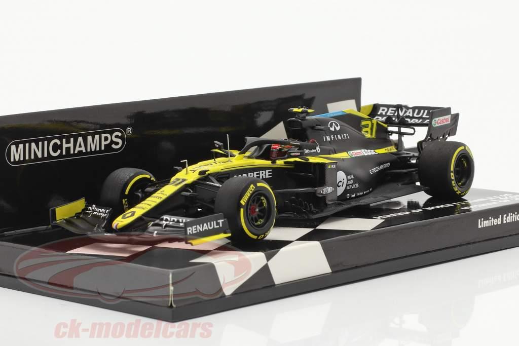 Esteban Ocon Renault R.S.20 #31 austriaco GP formula 1 2020 1:43 Minichamps