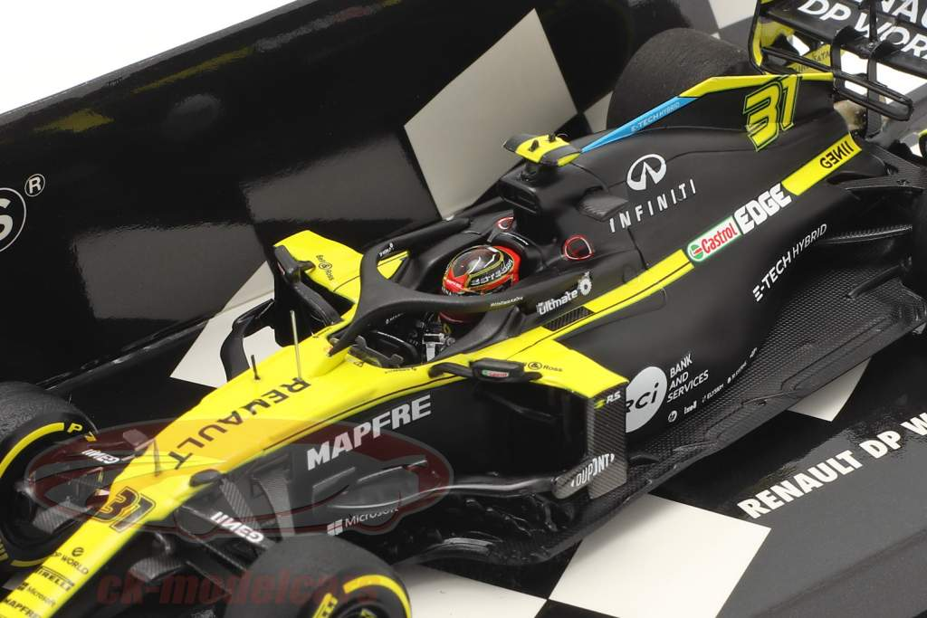 Esteban Ocon Renault R.S.20 #31 autrichien GP formule 1 2020 1:43 Minichamps