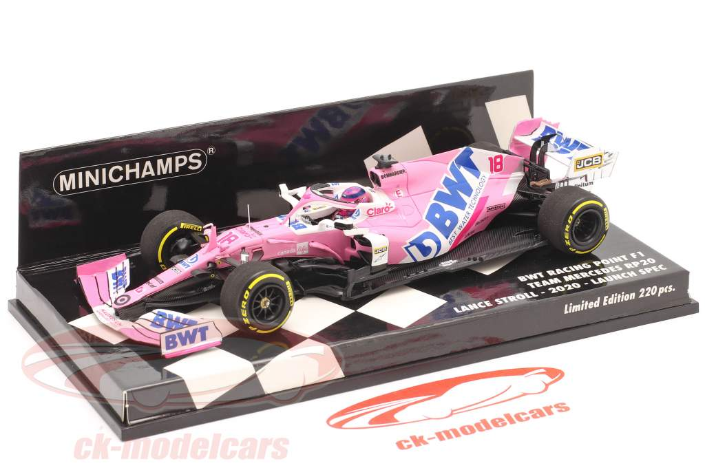 Lance Stroll Racing Point RP20 #18 Launch Spec Formel 1 2020 1:43 Minichamps
