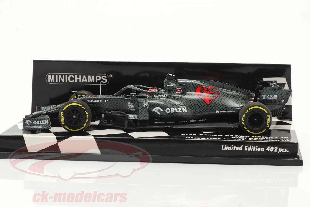 Kimi Räikkönen Alfa Romeo Racing C39 #7 Fiorano Shakedown 2020 1:43 Minichamps