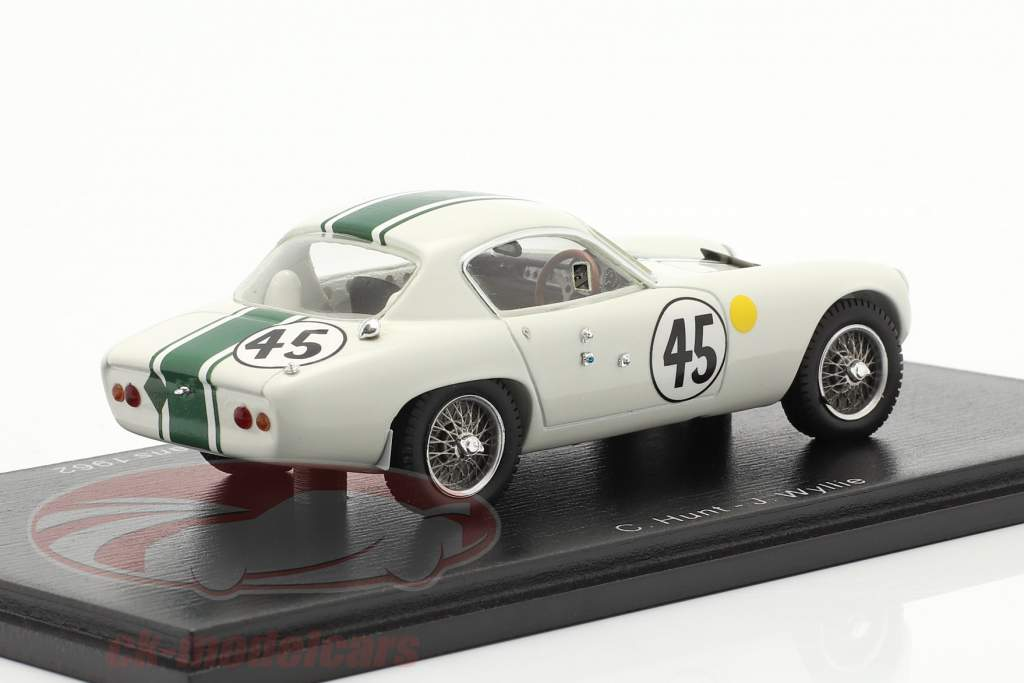 Lotus Elite MK XIV #45 24h LeMans 1962 Hunt, Wyllie 1:43 Gnist