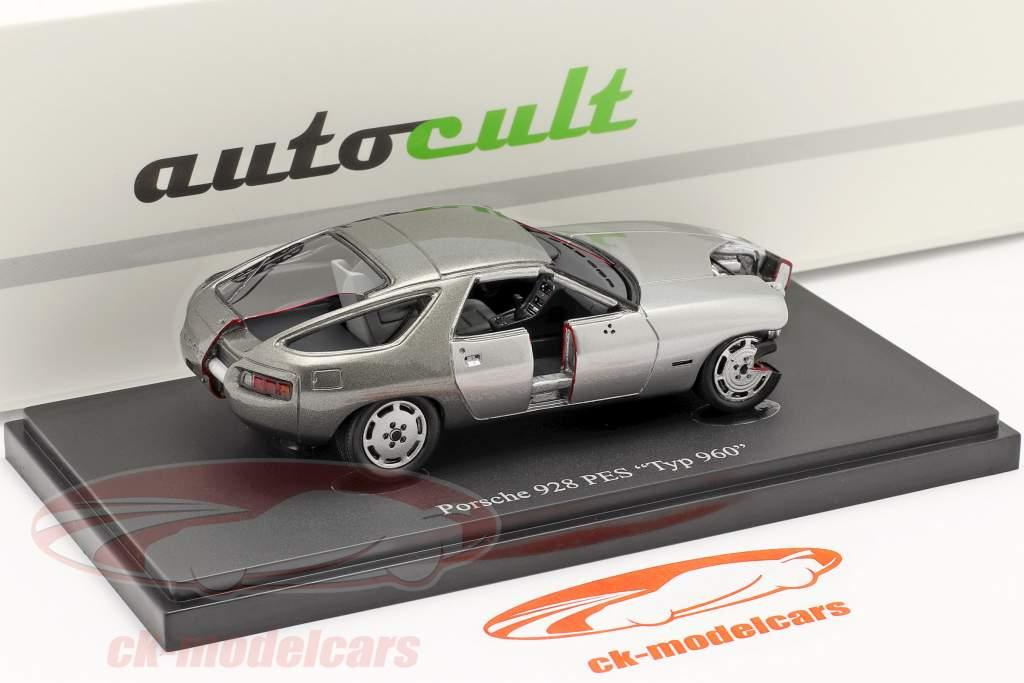 Set Annuaire 2020 Avec Modèle annuel Porsche 928 PES Type 960 1:43 AutoCult