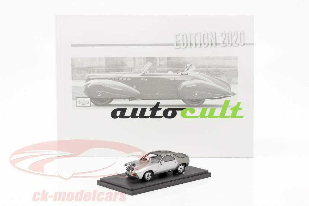 Set Anuario 2020 Con Modelo anual Porsche 928 PES Tipo 960 1:43 AutoCult