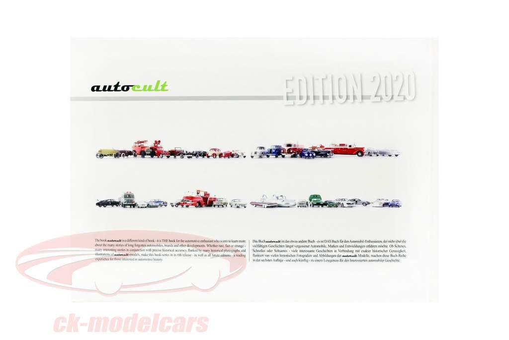 Set Årbog 2020 Med Årlig model Porsche 928 PES Type 960 1:43 AutoCult