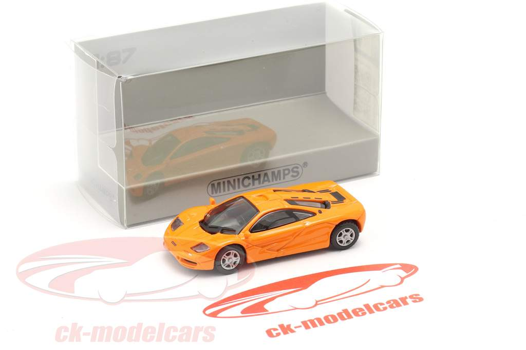 McLaren F1 Roadcar 1994 orange 1:87 Minichamps