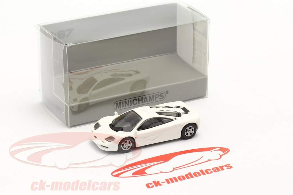 McLaren F1 Roadcar 1994 weiß 1:87 Minichamps