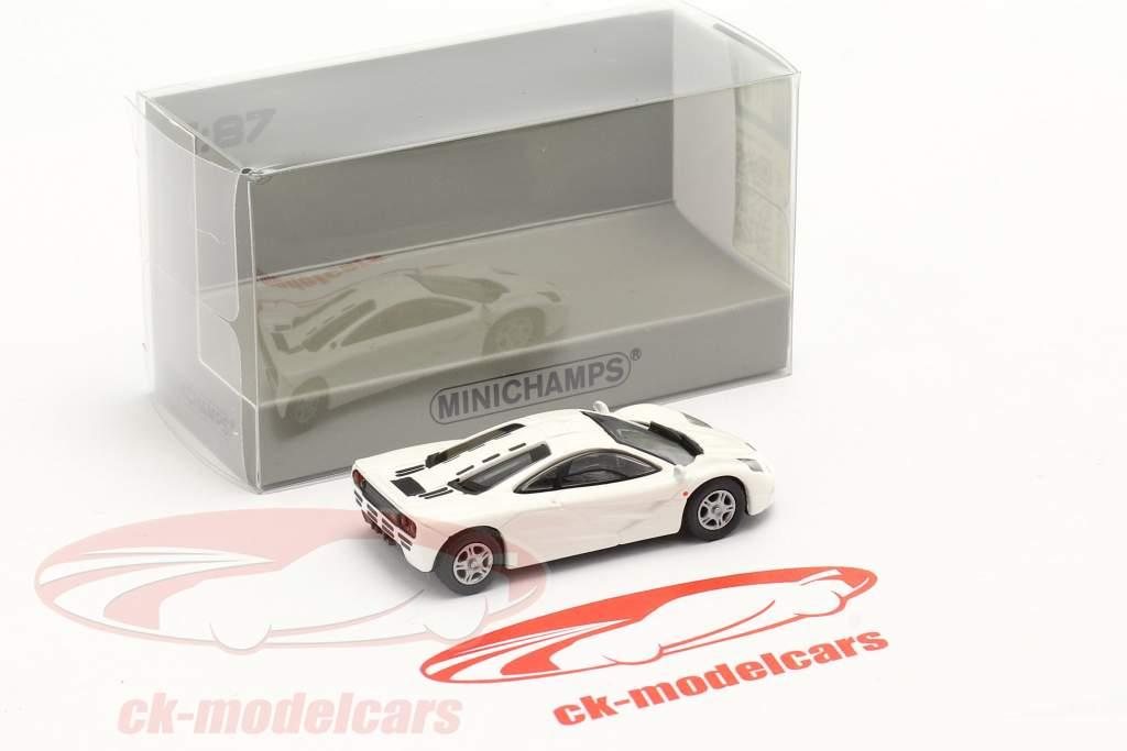McLaren F1 Roadcar 1994 Wit 1:87 Minichamps