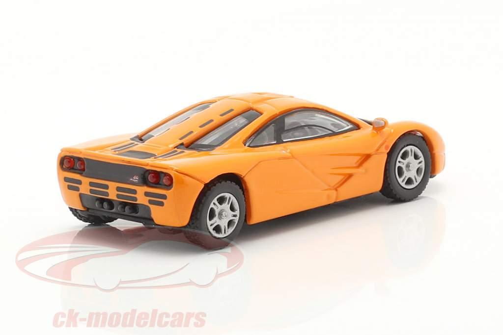 McLaren F1 Roadcar 1994 arancia 1:87 Minichamps