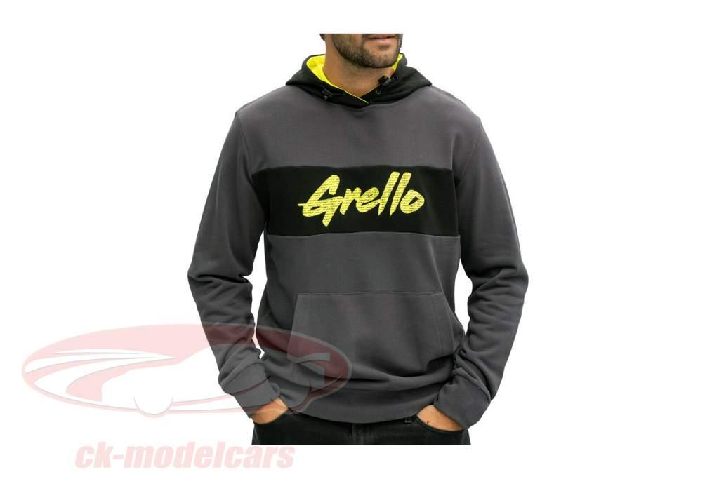 Manthey-Racing Jersey con capucha Grello 911 gris / amarillo