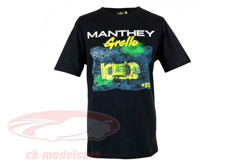 Manthey-Racing camiseta Pitstop Grello 911 negro