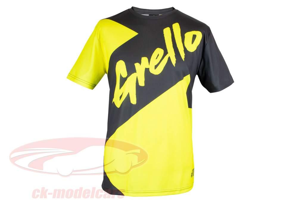 Manthey-Racing T-shirt ventilateur Grello 911 gris / Jaune