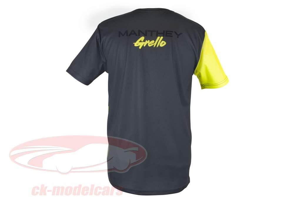 Manthey-Racing camiseta ventilador Grello 911 cinzento / amarelo