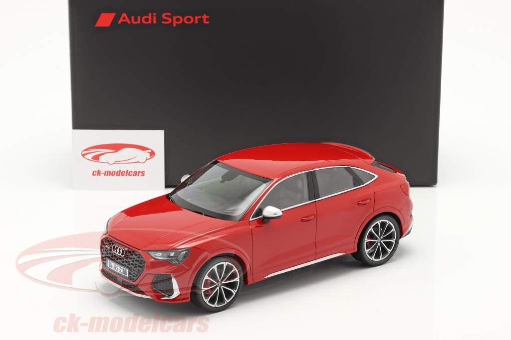 Audi RS Q3 Sportback (F3) Año de construcción 2020 tango rojo 1:18 Minichamps
