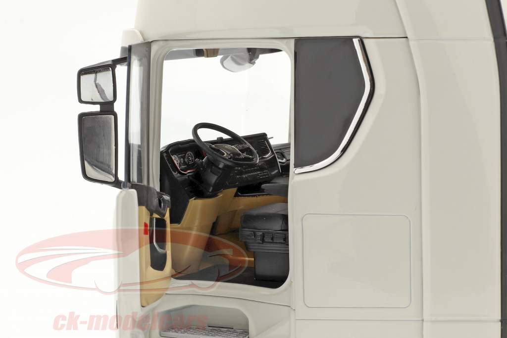 Scania V8 730S 4x2 Camion bianca 1:18 NZG
