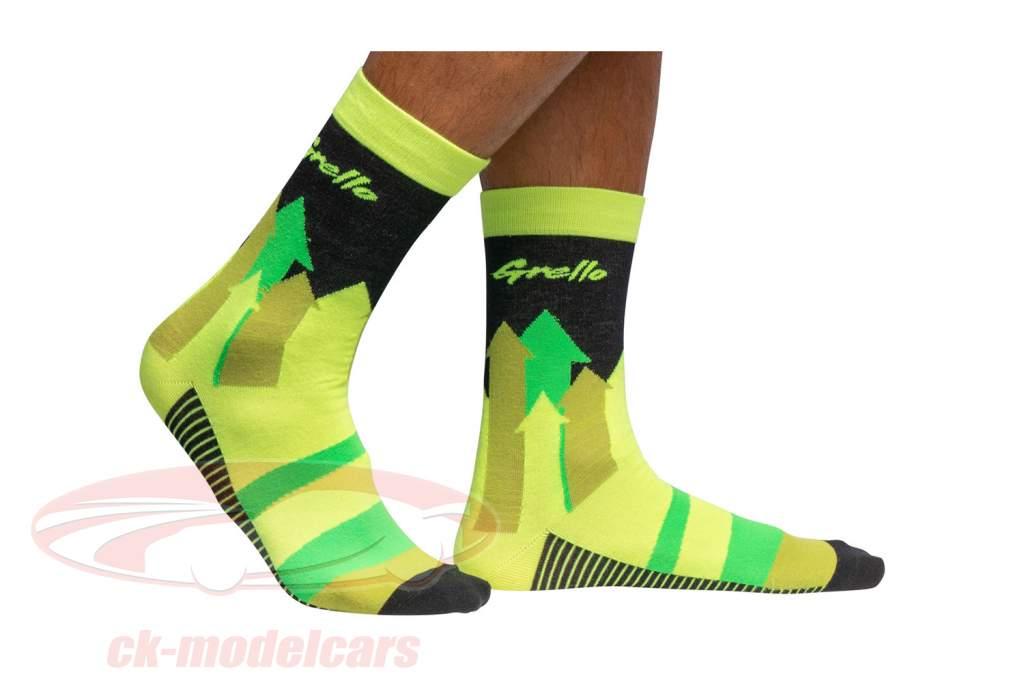 Manthey-Racing Calcetines Grello 911 amarillo / verde Talla 43-46