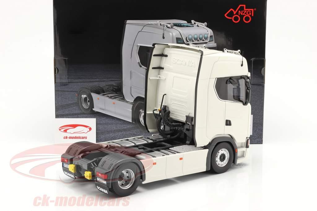 Scania V8 730S 4x2 Caminhão Branco 1:18 NZG