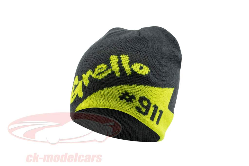 Manthey-Racing Beanie Grello 911 grey / yellow