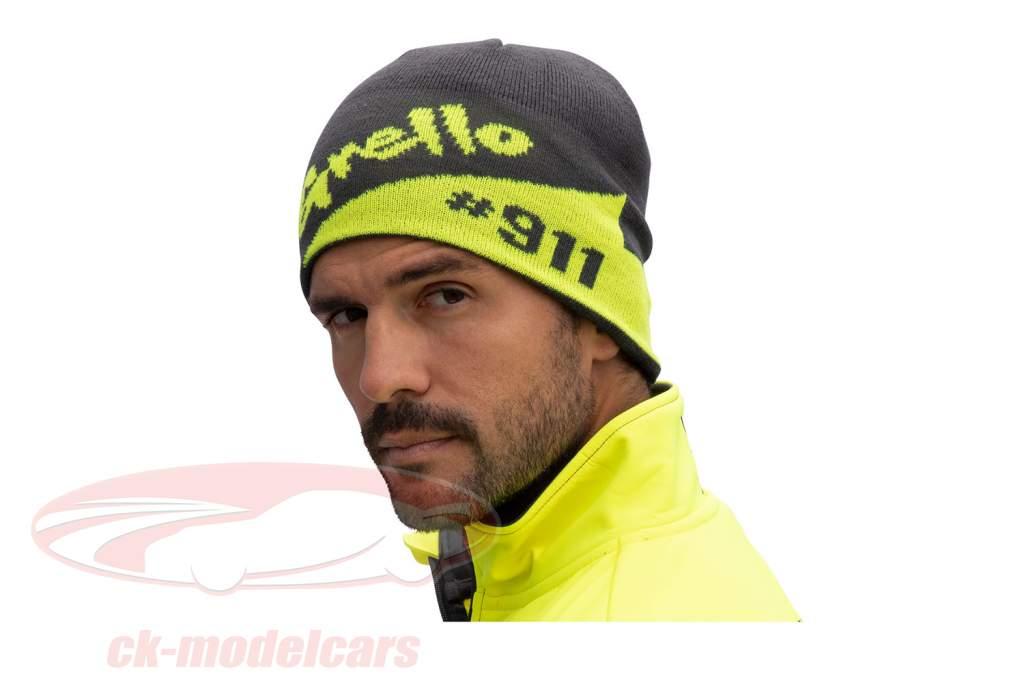 Manthey-Racing Beanie Grello 911 gris / amarillo