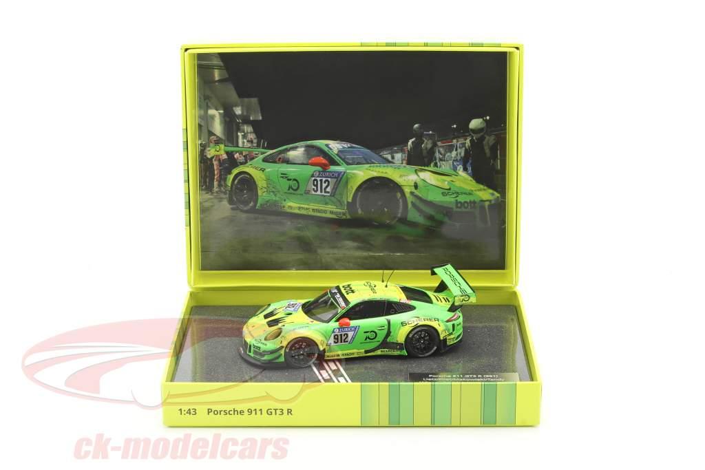 Porsche 911 (991) GT3 R #912 Vincitore 24h Nürburgring 2018 Manthey Grello 1:43 Minichamps