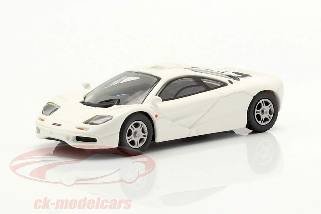 McLaren F1 Roadcar 1994 Blanco 1:87 Minichamps