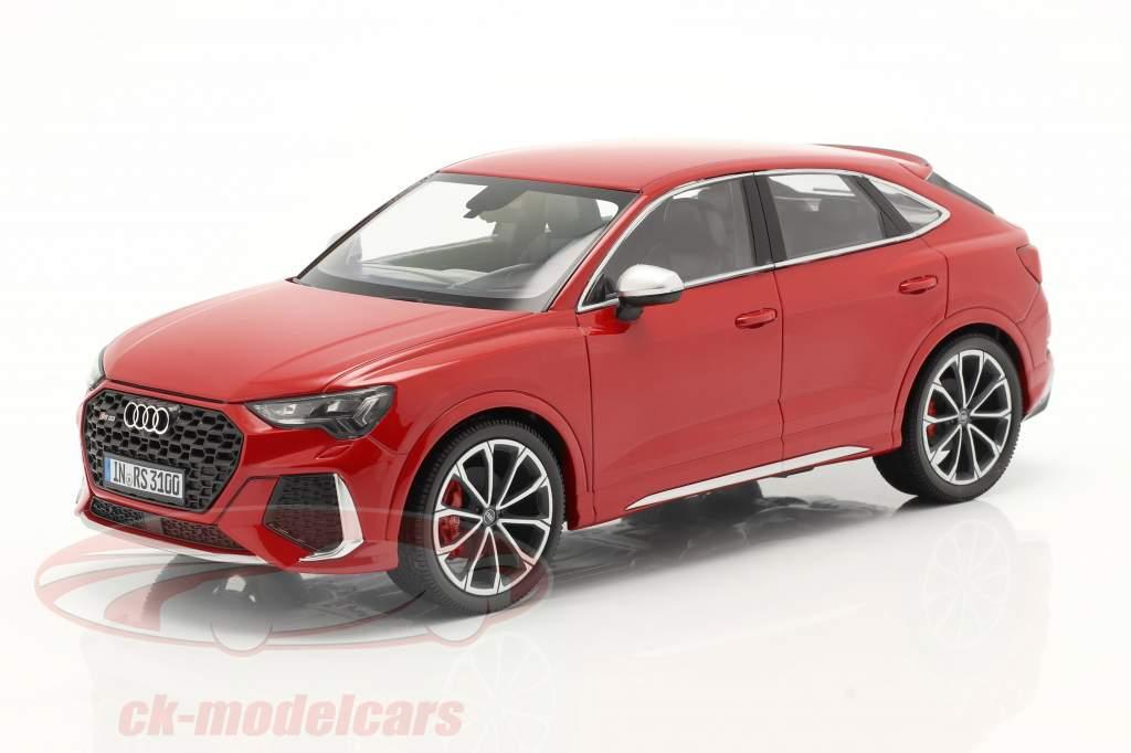 Audi RS Q3 Sportback (F3) Anno di costruzione 2020 tango rosso 1:18 Minichamps