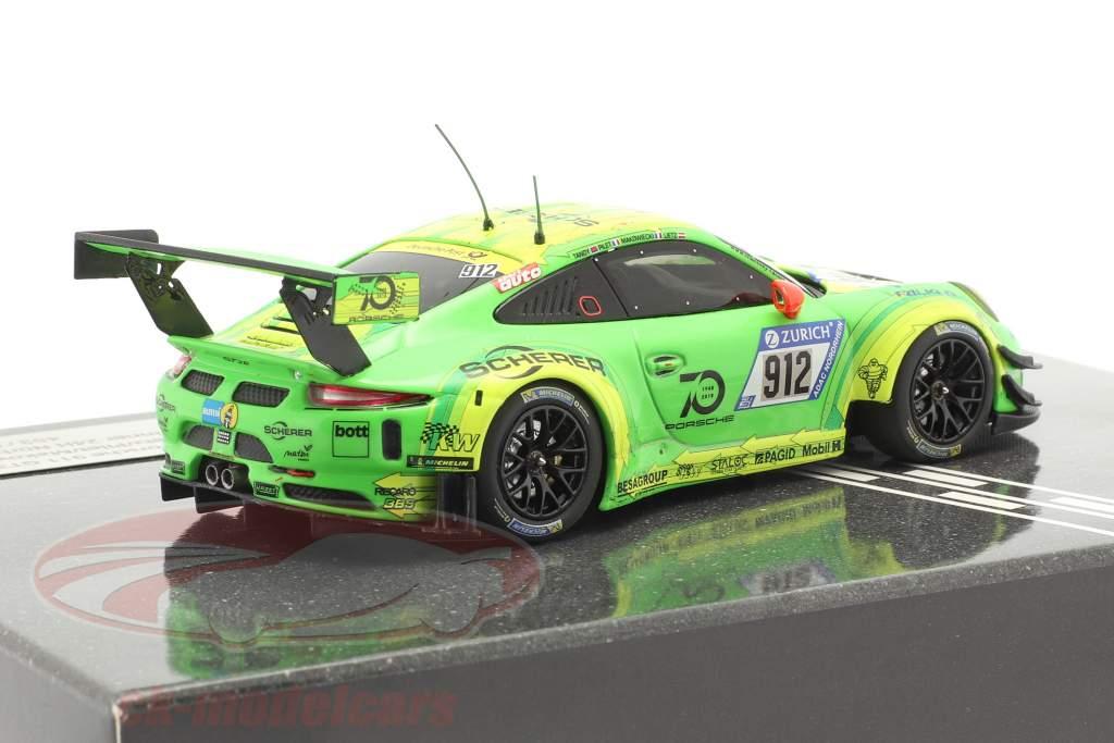Porsche 911 (991) GT3 R #912 Ganador 24h Nürburgring 2018 Manthey Grello 1:43 Minichamps