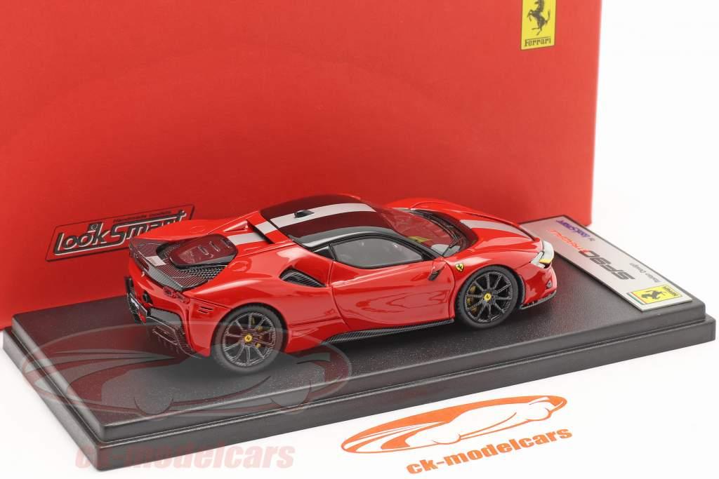 Ferrari SF90 Stradale Byggeår 2019 corsa rød / sort 1:43 LookSmart