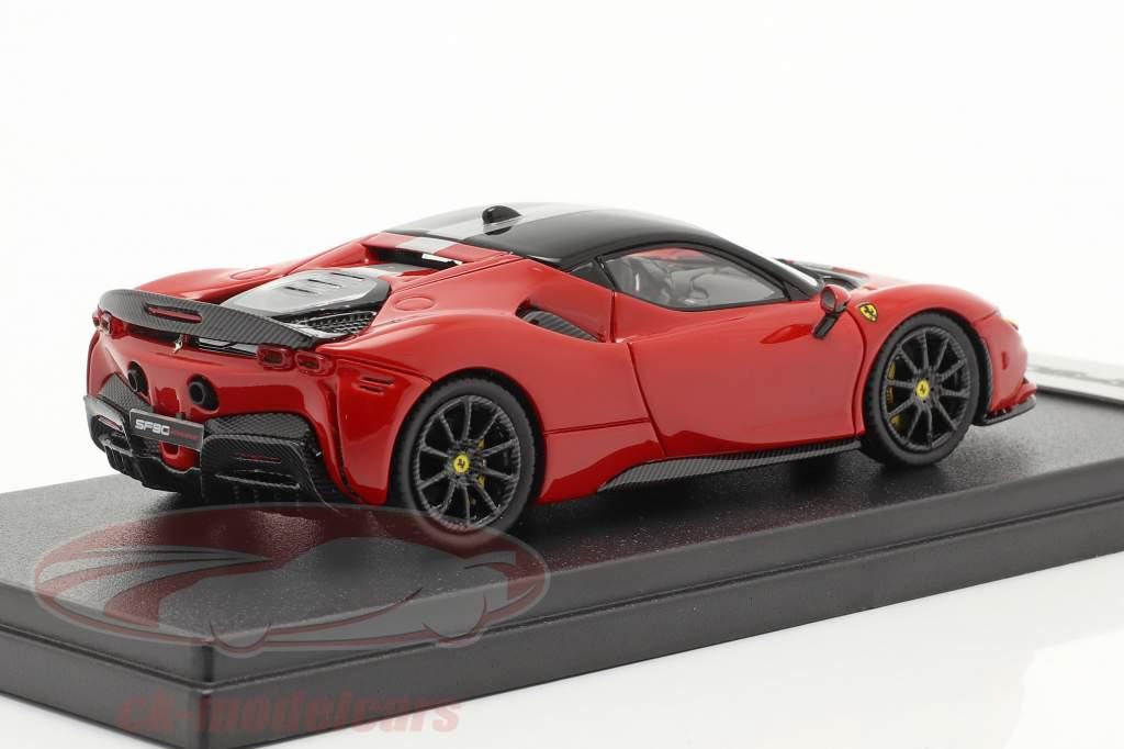 Ferrari SF90 Stradale Année de construction 2019 corsa rouge / noir 1:43 LookSmart