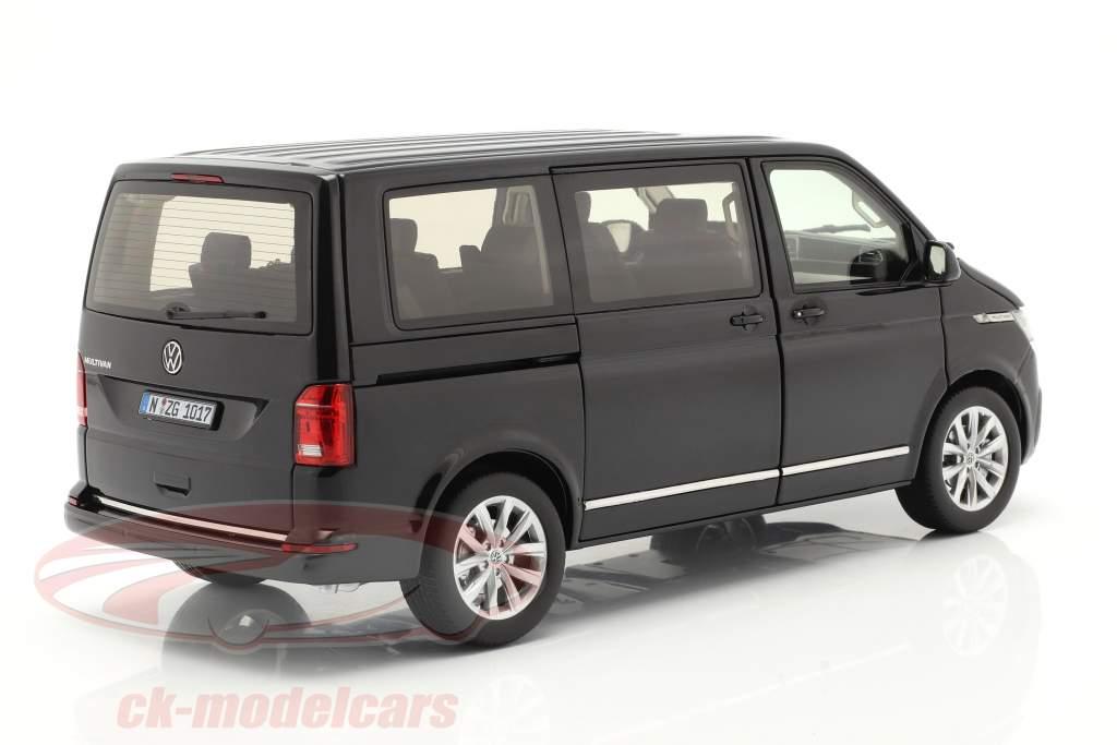 Volkswagen VW Multivan T6.1 Highline 2020 black 1:18 NZG
