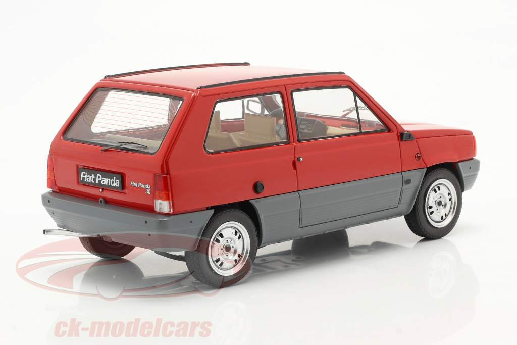 Fiat Panda 30 MK I Baujahr 1980 rot 1:18 KK-Scale