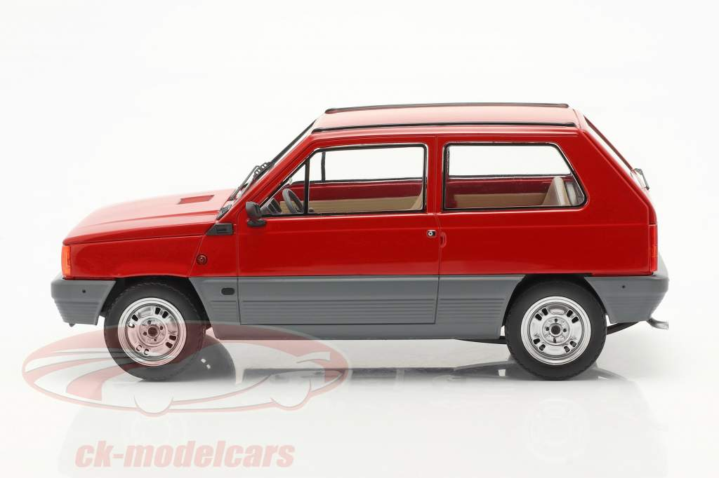 Fiat Panda 30 MK I year 1980 red 1:18 KK-Scale