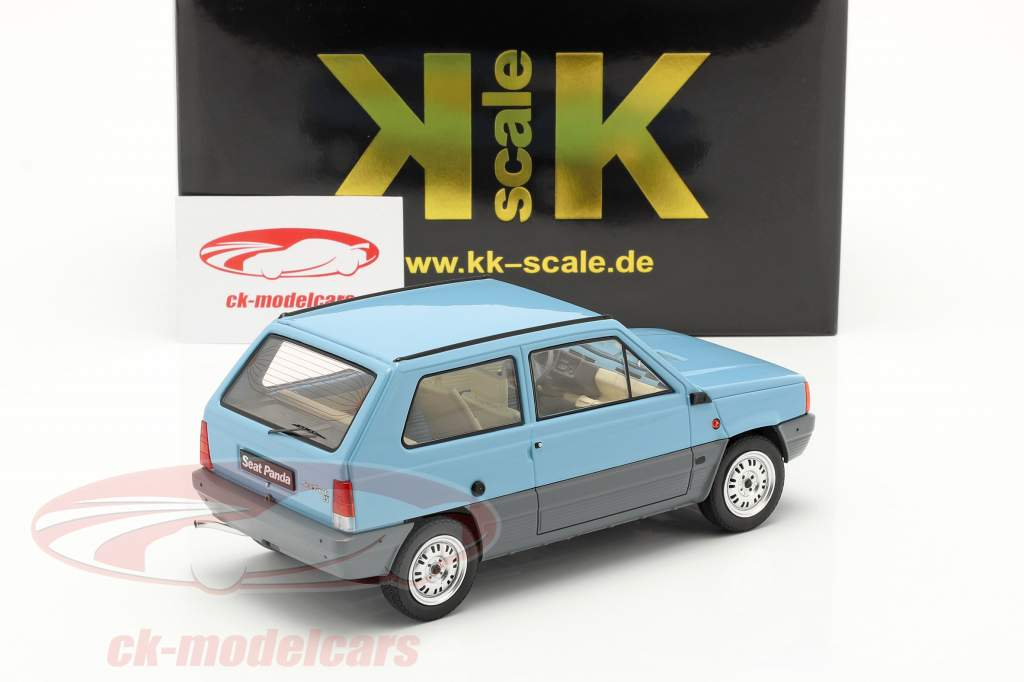 Seat Panda 35 MK I year 1980 light blue 1:18 KK-Scale