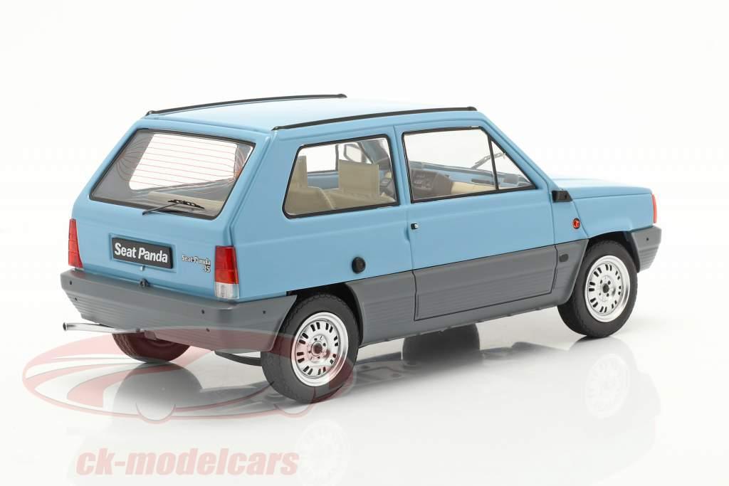 Seat Panda 35 MK I Byggeår 1980 lys blå 1:18 KK-Scale