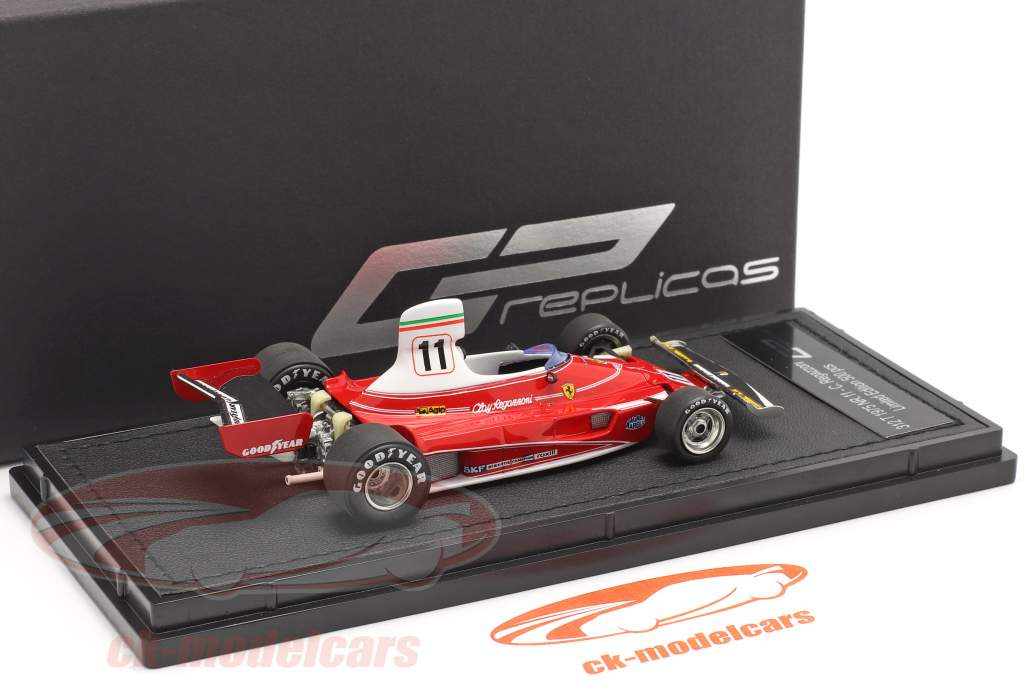 Clay Regazzoni Ferrari 312T #11 formula 1 1975 1:43 GP Replicas