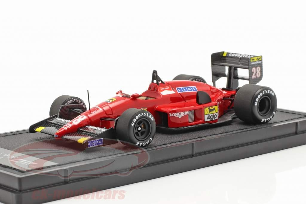 Gerhard Berger Ferrari F1-87/88C #28 formel 1 1988 1:43 GP Replicas