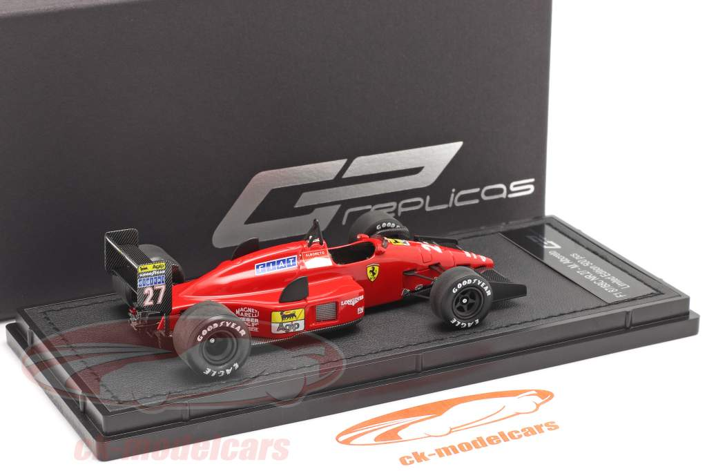 Michaele Alboreto Ferrari F1-87/88C #27 2 ° Monza formula 1 1988 1:43 GP Replicas