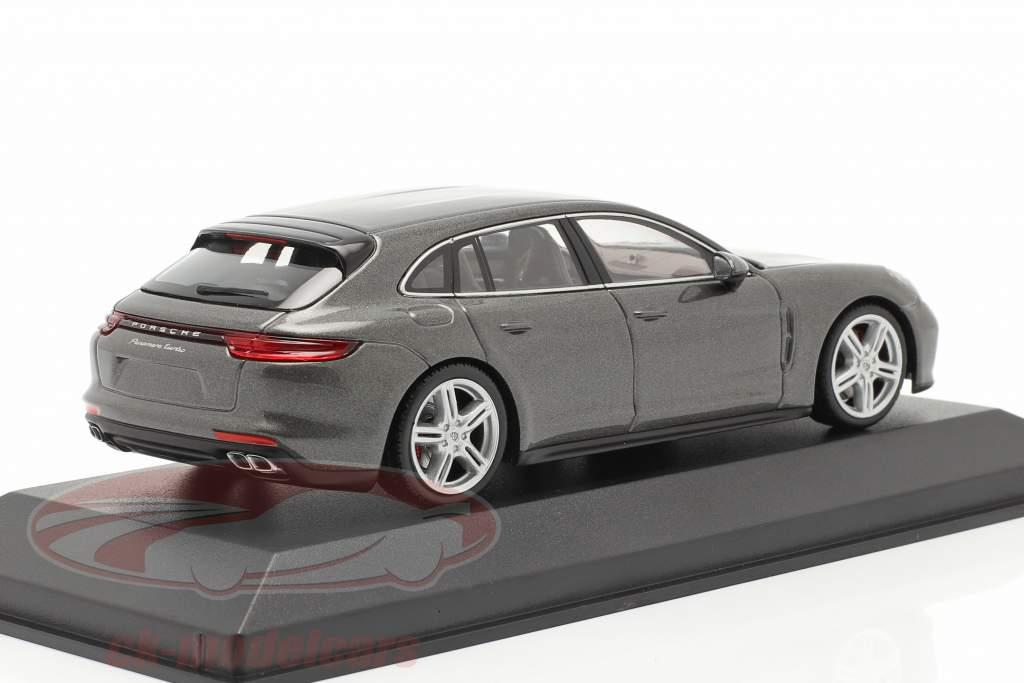 Porsche Panamera Turbo grau metallic 1:43 Minichamps