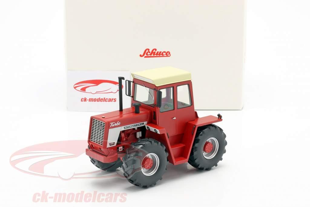 International 4166 Traktor Baujahr 1972-76 rot 1:32 Schuco