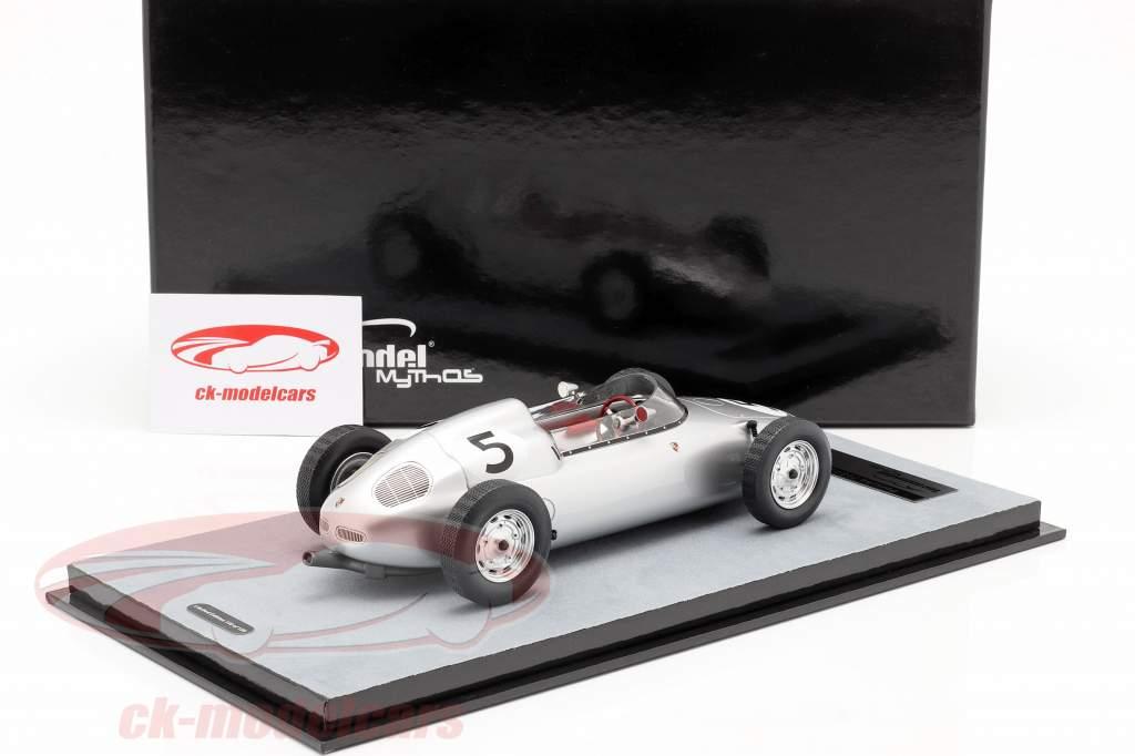 Hans Herrmann Porsche 718/2 #5 2nd Solitude GP Formel 2 1960 1:18 Tecnomodel