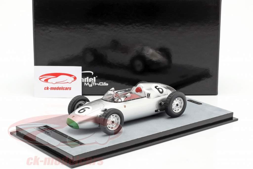 Graham Hill Porsche 718/2 #6 4º Solitude GP Fórmula 2 1960 1:18 Tecnomodel