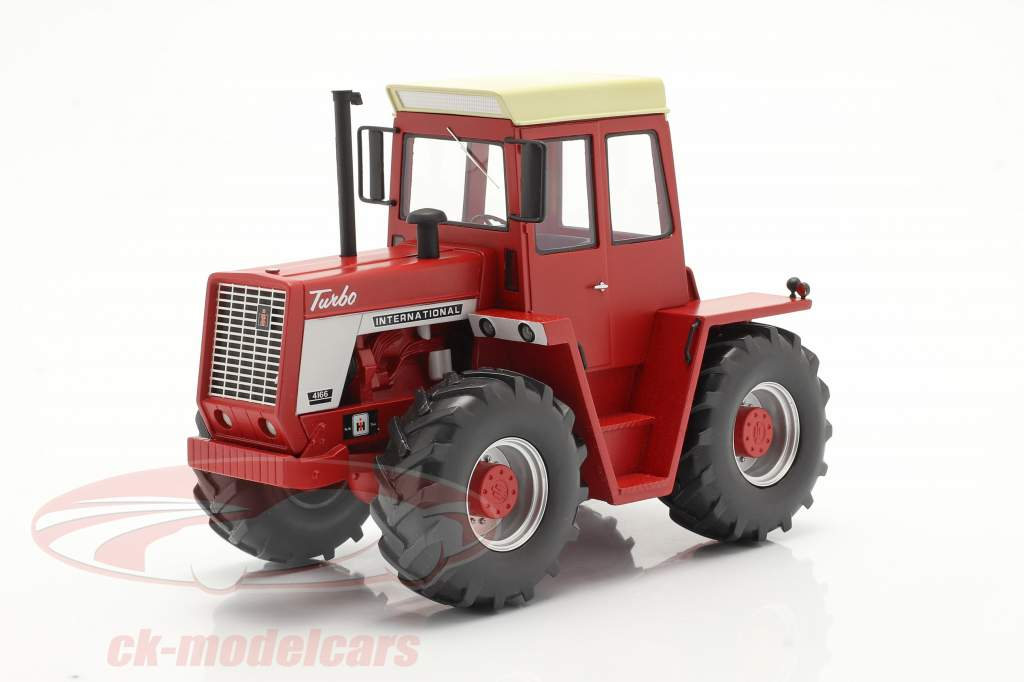 International 4166 Traktor Baujahr 1972-76 rot 1:32 Schuco