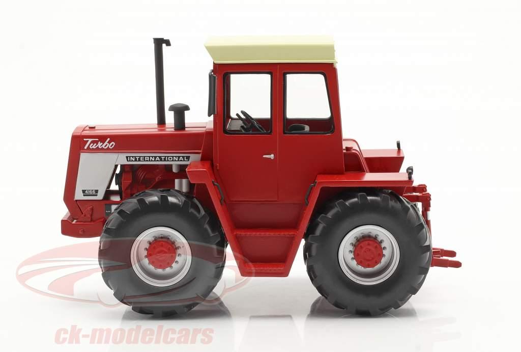International 4166 拖拉机 建设年份 1972-76 红 1:32 Schuco