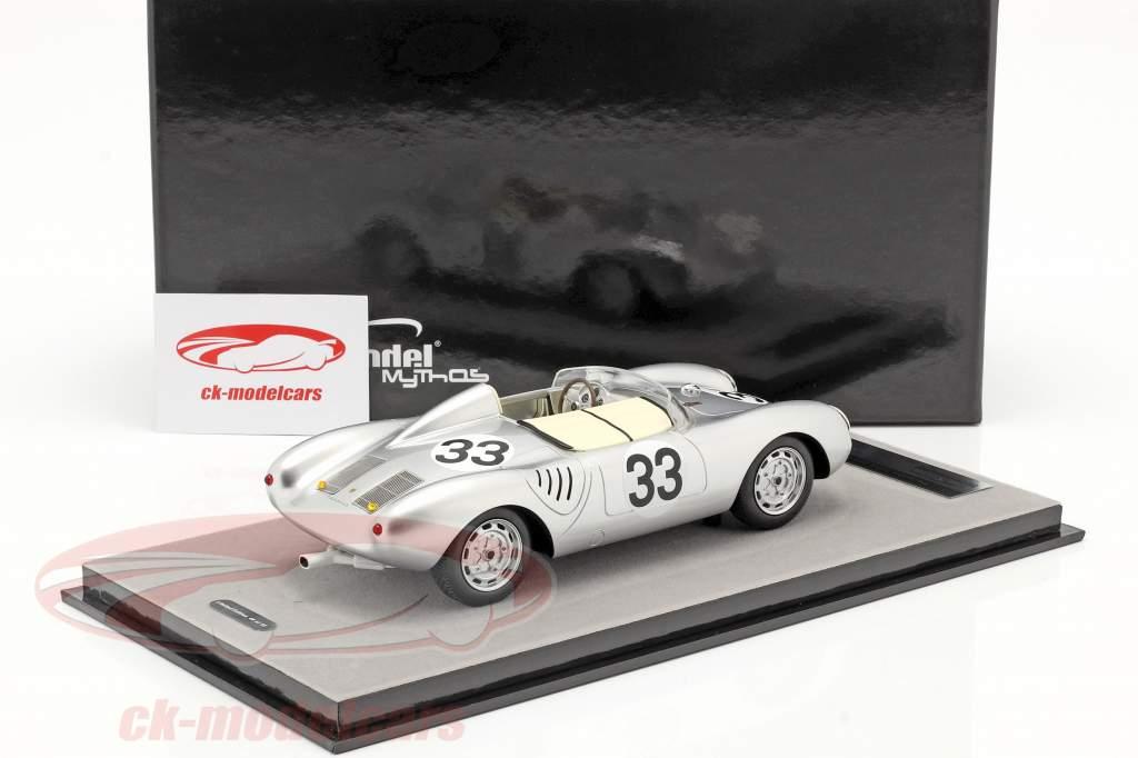 Porsche 550A RS #33 24h LeMans 1957 Herrmann, von Frankenberg 1:18 Tecnomodel