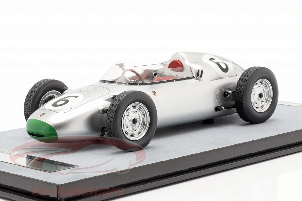 Graham Hill Porsche 718/2 #6 4th Solitude GP formula 2 1960 1:18 Tecnomodel